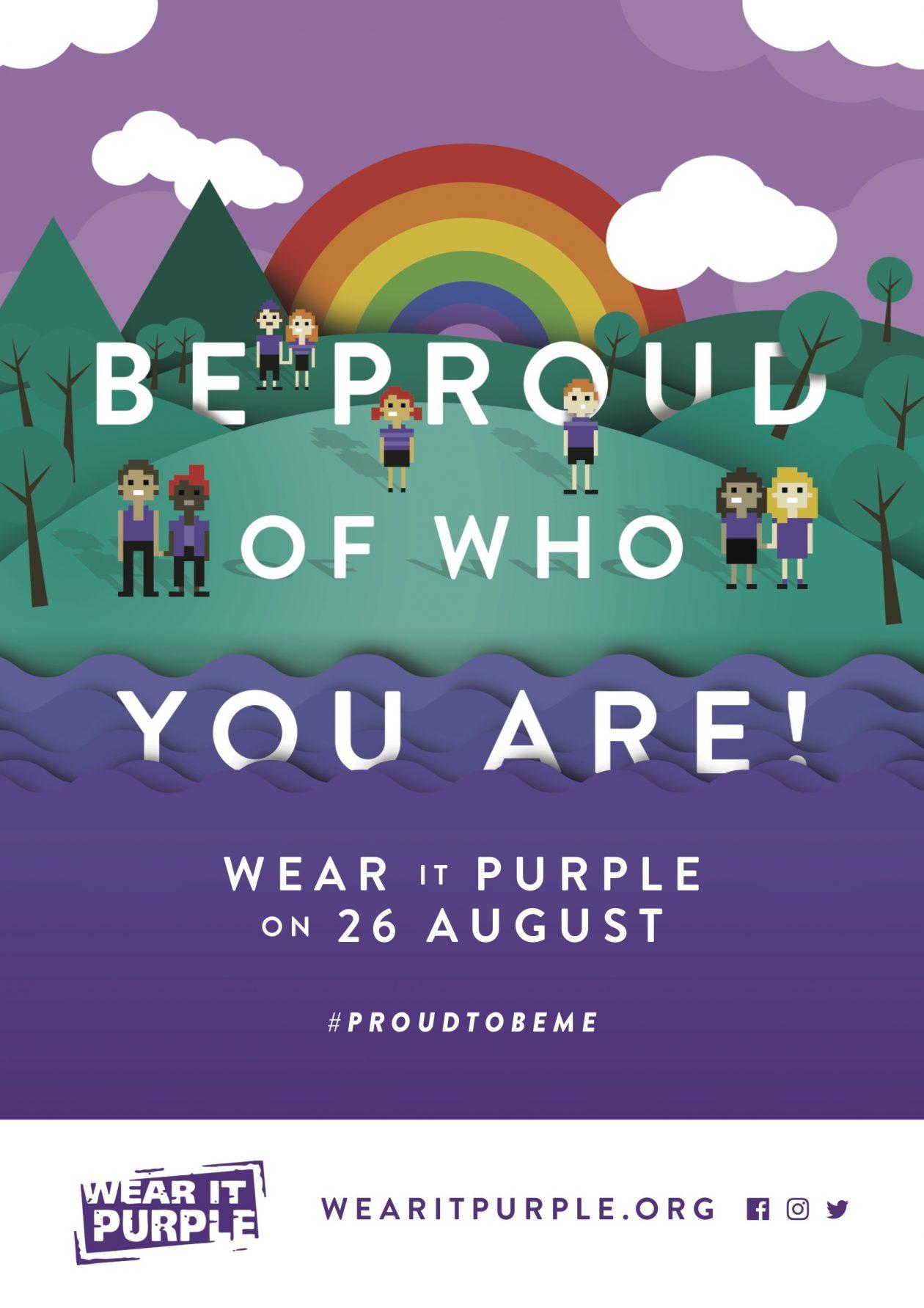 Wear It Purple 2016 Poster